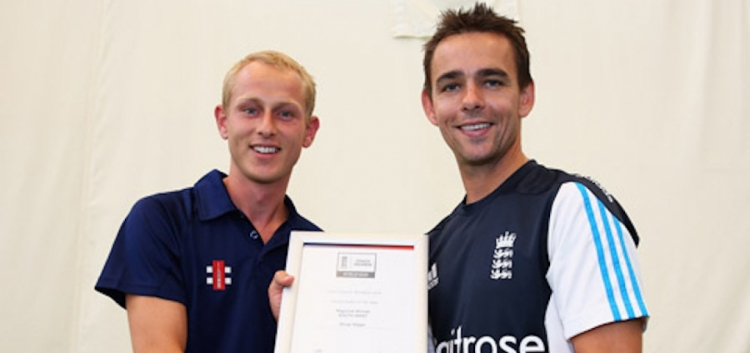 Gloucestershire coach Olly scoops ECB south west award