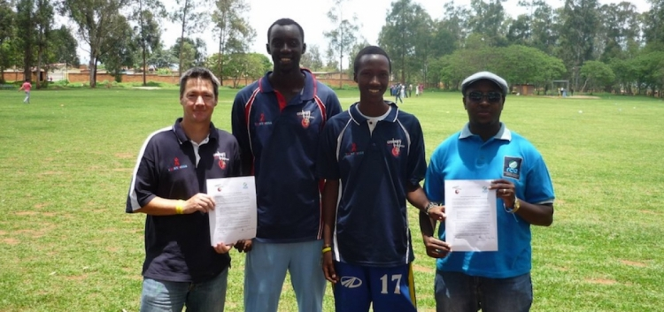 CWB ambassadors start coaching in Rwanda
