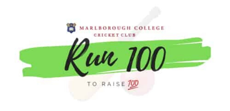 "Marlborough College Cricket Club ""Run 100 to Raise 100"""