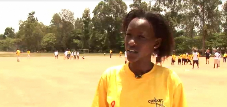 CWB boosts girl's cricket in Rwanda