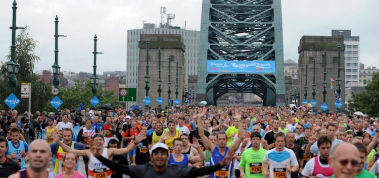CWB Supporters tackle Great North Run