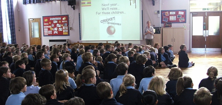 Crabtree Junior School lend support to CWB