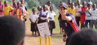 Coach cricket and change lives in Africa
